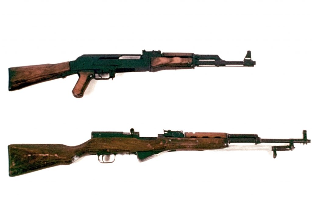 What makes the SKS different from an AK?